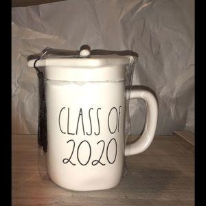 Rae Dunn CLASS OF 2020 Graduation Ceramic Mug NWOT
